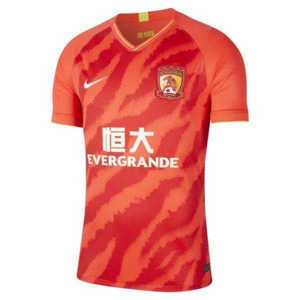 Guangzhou Evergrande Taobao FC 2020 Stadium Home Camiseta de fútbol - Hombre - Rojo
