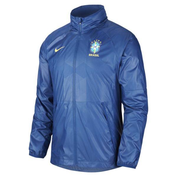 Brasil Chaqueta de fútbol - Hombre - Azul