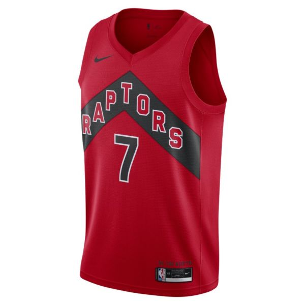 Kyle Lowry Raptors Icon Edition 2020 Camiseta Nike NBA Swingman - Rojo