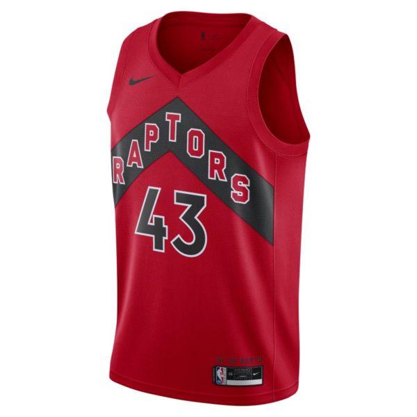 Raptors Icon Edition 2020 Camiseta Nike NBA Swingman - Rojo