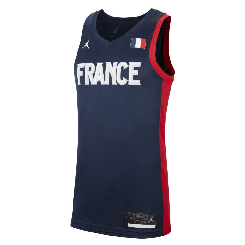 Segunda equipación Francia Jordan Limited Camiseta de baloncesto - Hombre - Azul