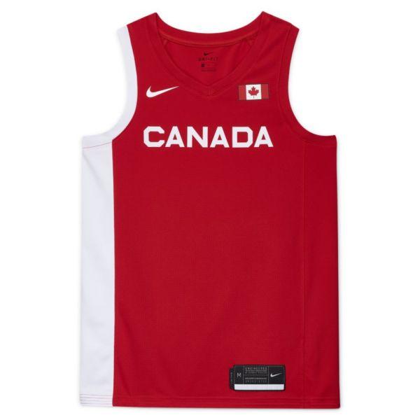 Segunda equipación Canadá NikeLimited Camiseta de baloncesto - Hombre - Rojo