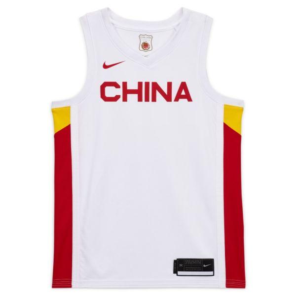 China (Primera equipación) Camiseta de baloncesto Nike - Hombre - Blanco