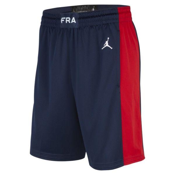 Segunda equipación Francia Jordan Limited Pantalón corto de baloncesto - Hombre - Azul