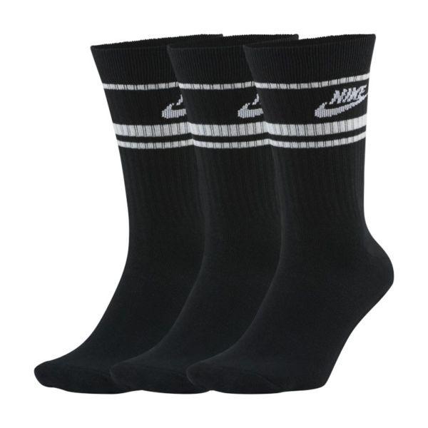 Nike Sportswear Essential Calcetines largos (3 pares) - Negro
