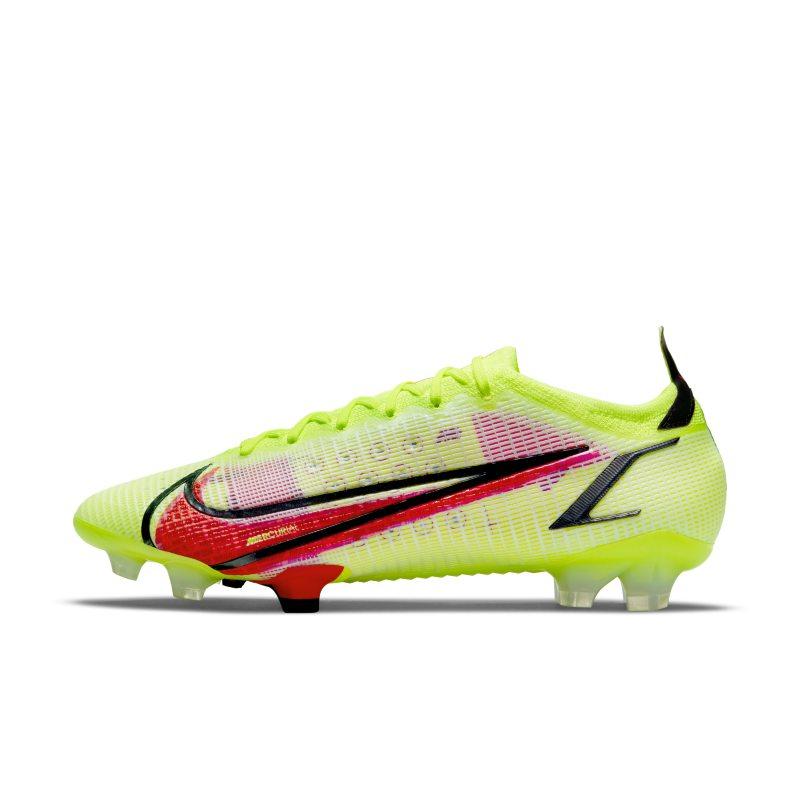 Nike Mercurial Vapor 14 Elite FG Botas de fútbol para terreno firme - Amarillo
