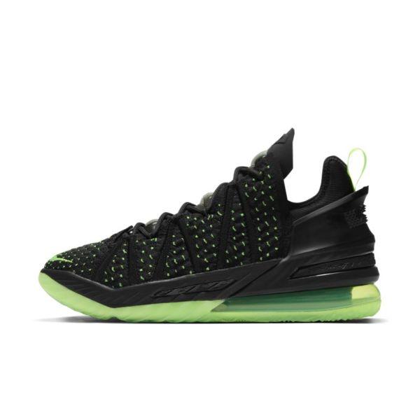 "LeBron 18 ""Black/Electric Green"" Zapatillas de baloncesto - Negro"
