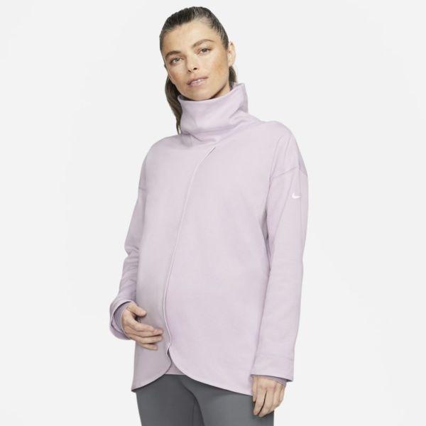 Nike (M) Sudadera - Mujer (Maternity) - Morado