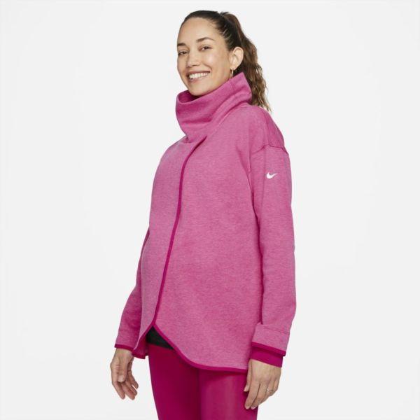 Nike (M) Sudadera - Mujer (Maternity) - Rojo