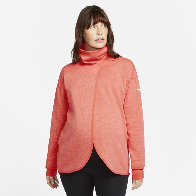 Nike (M) Sudadera - Mujer (Maternity) - Naranja