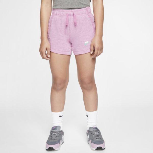 Nike Sportswear Pantalón corto de tejido de punto - Niña - Rosa