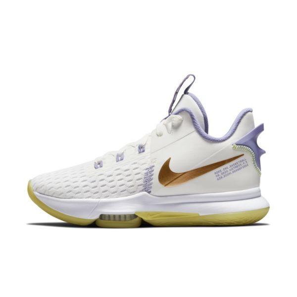 LeBron Witness 5 Zapatillas de baloncesto - Blanco