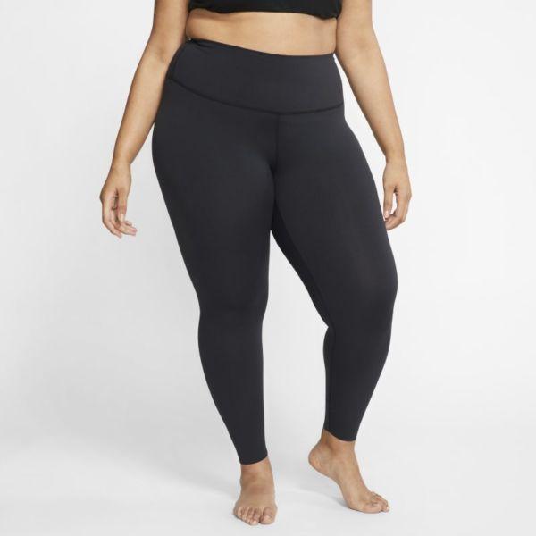 Nike Yoga Luxe Leggings de 7/8 con tejido Infinalon y talle alto - Mujer - Negro