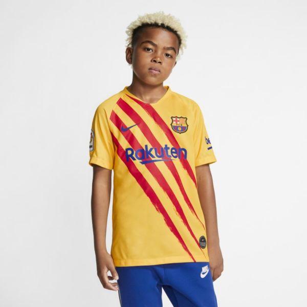 Cuarta equipación Stadium FC Barcelona Camiseta de fútbol - Niño/a - Amarillo