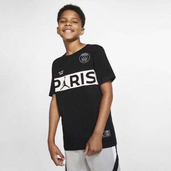 PSG Camiseta de manga corta - Niño - Negro