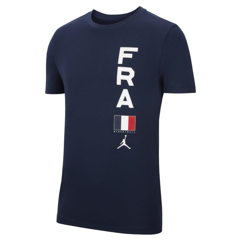 France Jordan Dri-FIT Team Camiseta de baloncesto - Hombre - Azul