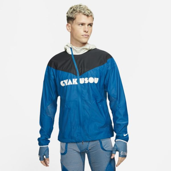 Nike x Gyakusou Chaqueta de tres capas - Hombre - Azul