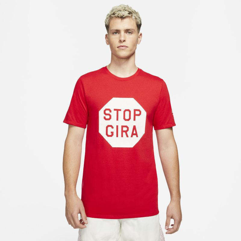 Nike x Gyakusou Camiseta - Hombre - Rojo