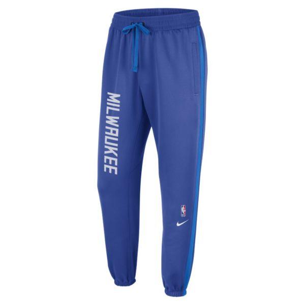 Milwaukee Bucks Showtime City Edition Pantalón Nike Therma Flex NBA - Hombre - Azul