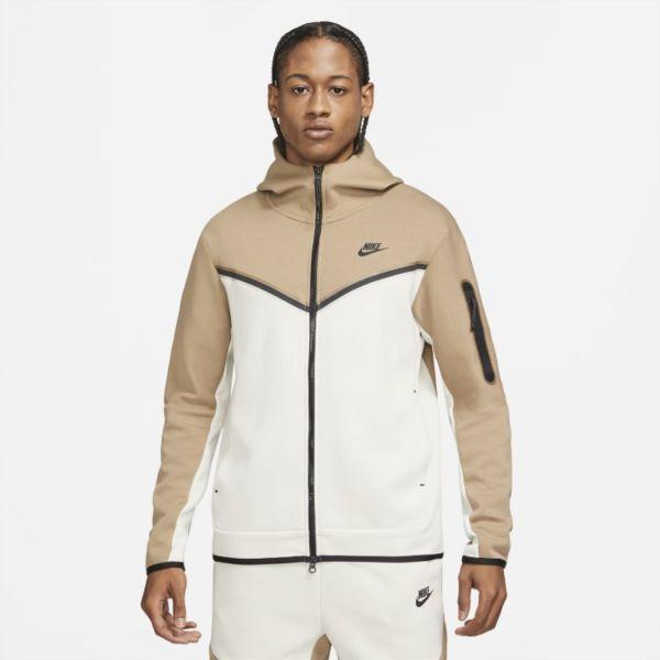 Nike Sportswear Tech Fleece Sudadera con capucha con cremallera completa - Hombre - Marrón