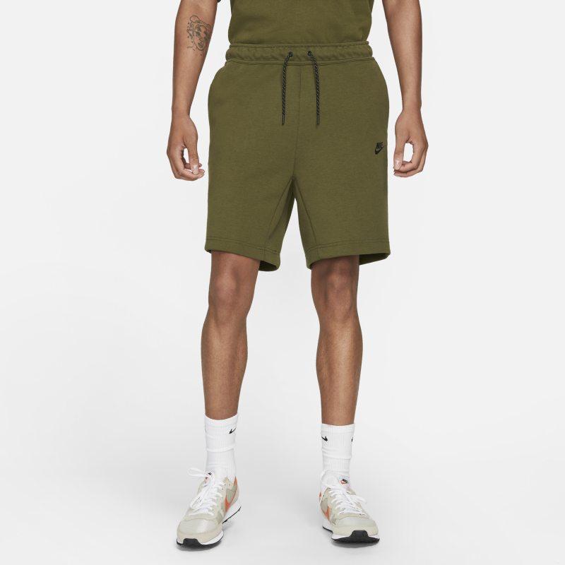 Nike Sportswear Tech Fleece Pantalón corto - Hombre - Verde