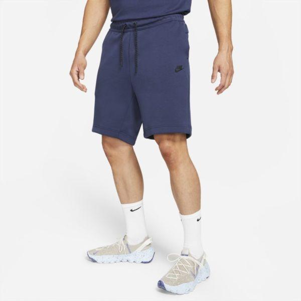 Nike Sportswear Tech Fleece Pantalón corto - Hombre - Azul