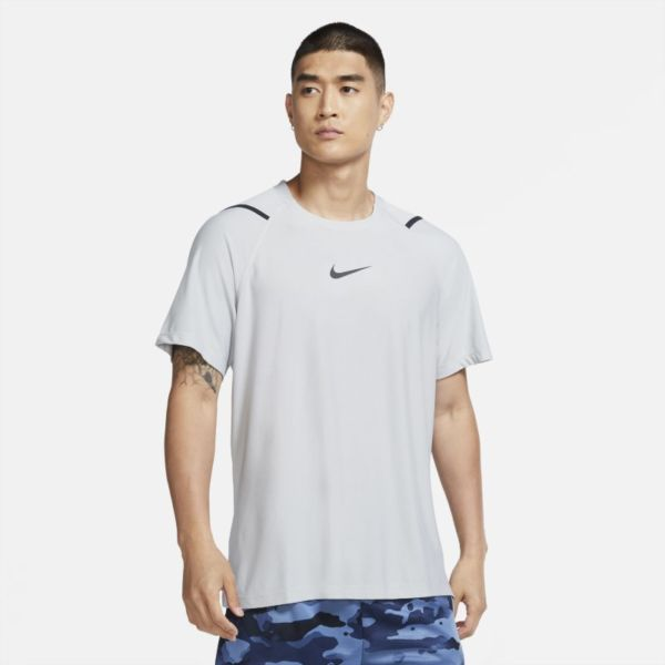 Nike Pro Camiseta de manga corta - Hombre - Gris