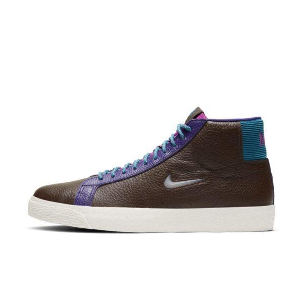 Nike SB Zoom Blazer Mid Premium Zapatillas de skateboard - Marrón