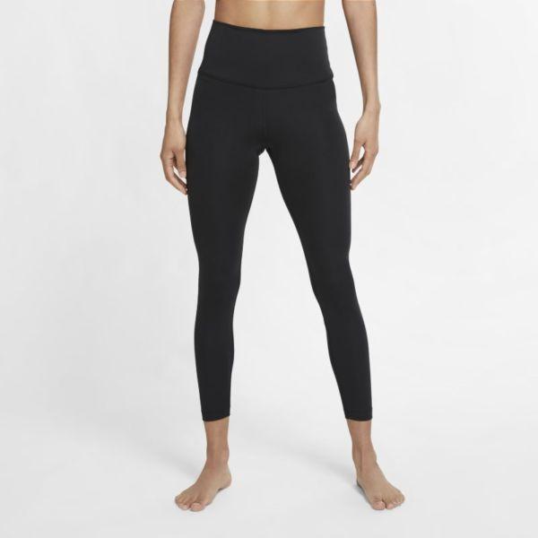 Nike Yoga Leggings de 7/8 de talle alto - Mujer - Negro