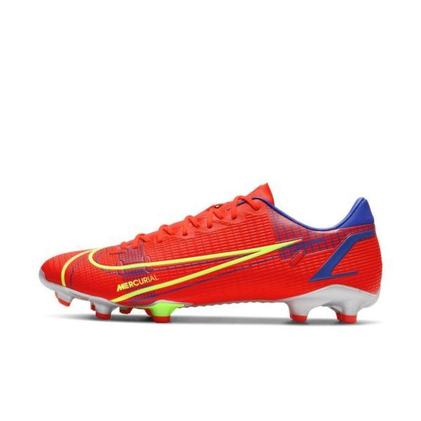 Nike Mercurial Vapor 14 Academy FG/MG Botas de fútbol para múltiples superficies - Rojo