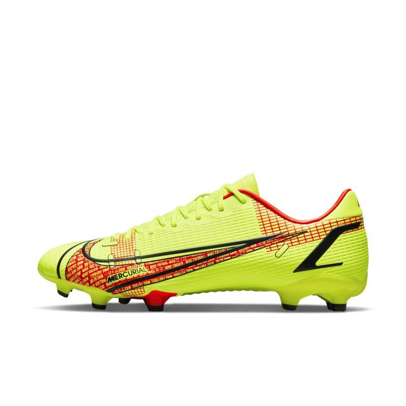 Nike Mercurial Vapor 14 Academy FG/MG Botas de fútbol para múltiples superficies - Amarillo