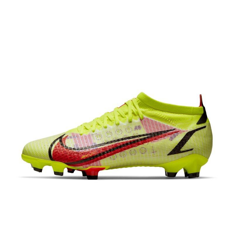 Nike Mercurial Vapor 14 Pro FG Botas de fútbol para terreno firme - Amarillo
