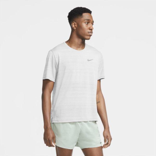 Nike Dri-FIT Miler Camiseta de running - Hombre - Blanco