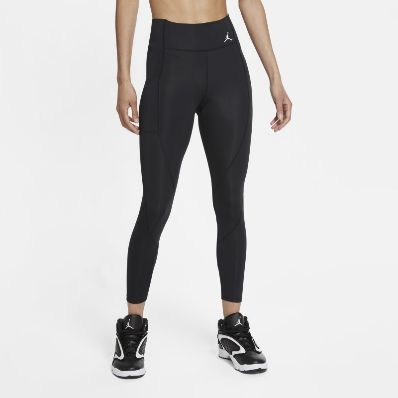 Jordan Essentials Leggings de 7/8 de talle medio - Mujer - Negro
