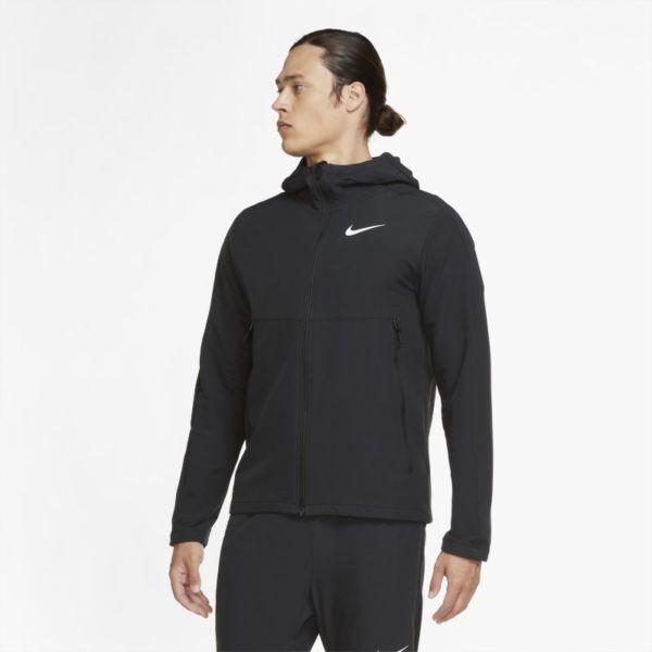 Nike Chaqueta de tejido Woven para el invierno de entrenamiento - Hombre - Negro
