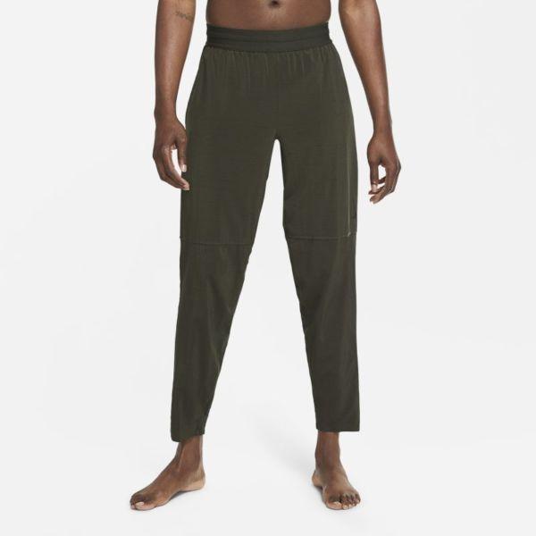 Nike Yoga Pantalón - Hombre - Marrón