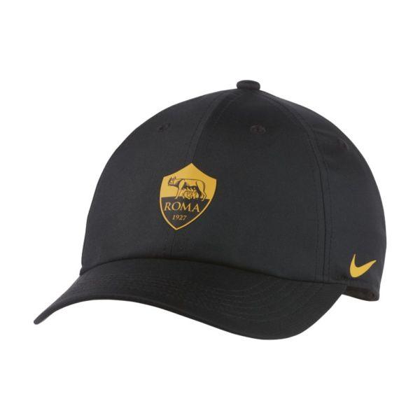 Nike Dri-FIT AS Roma Heritage86 Gorra regulable - Niño/a - Negro