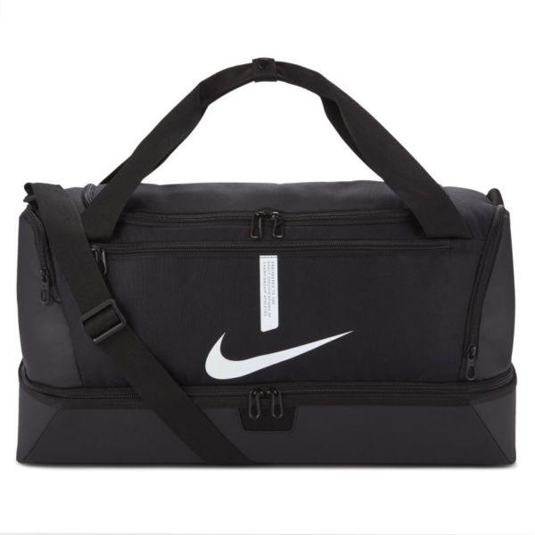 Nike Academy Team Hardcase Bolsa de deporte de fútbol (Mediana) - Negro