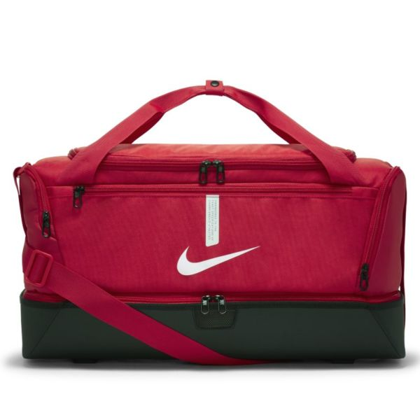Nike Academy Team Hardcase Bolsa de deporte de fútbol (Mediana) - Rojo