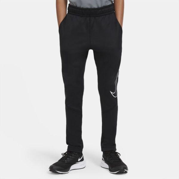 Nike Therma Pantalón de entrenamiento entallado con estampado - Niño - Negro