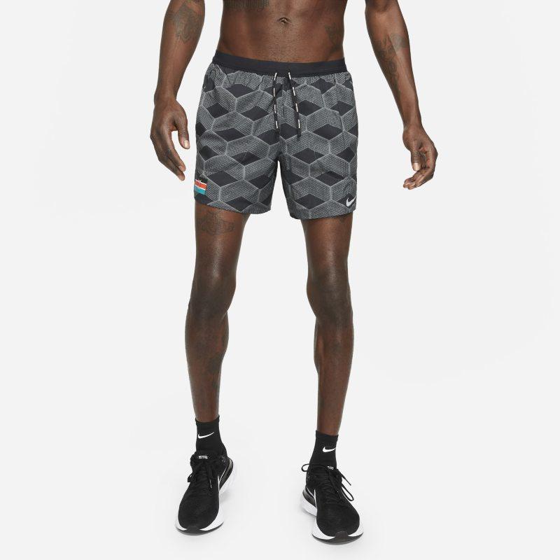 Nike Dri-FIT Team Kenya Flex Stride Pantalón corto de running - Hombre - Gris
