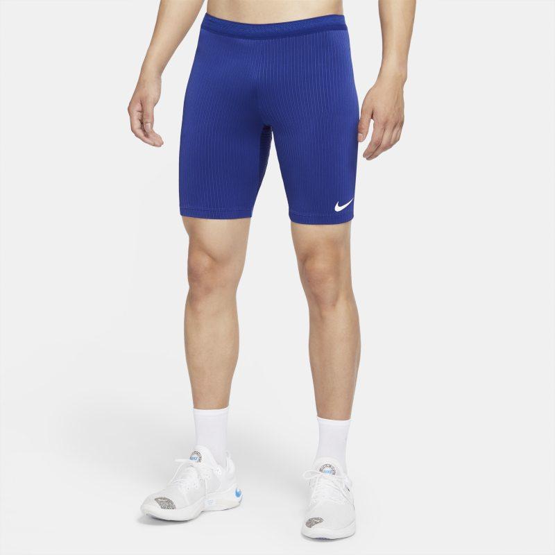 Nike Dri-FIT ADV Team USA AeroSwift Mallas de longitud media de competición - Hombre - Azul