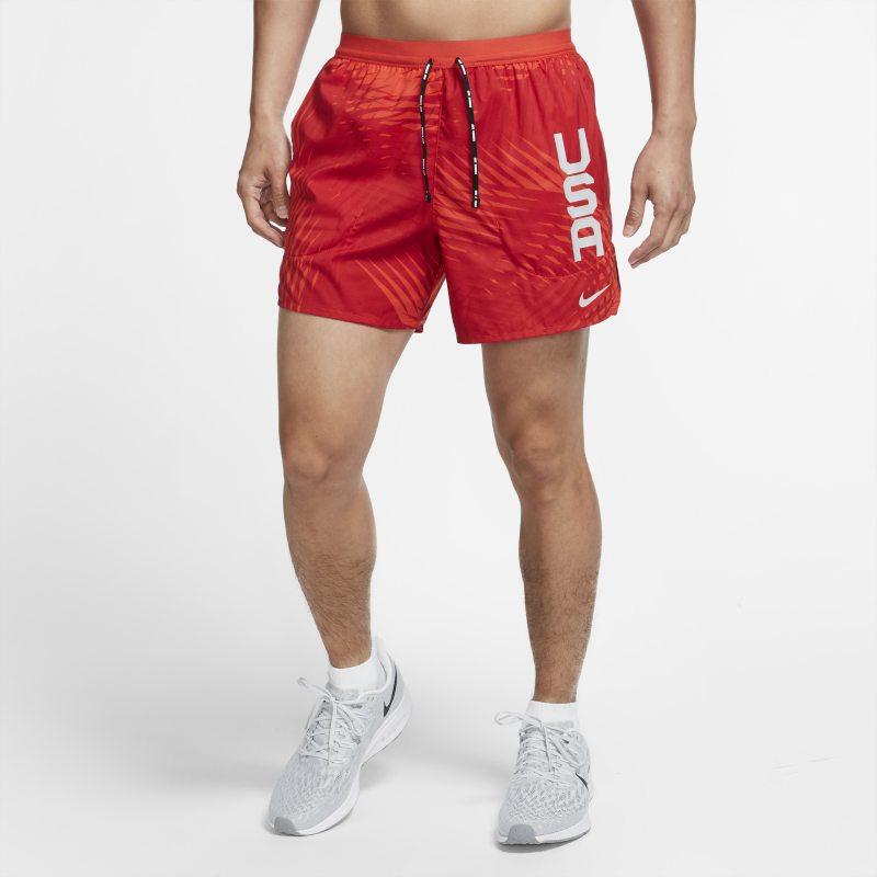 Nike Team USA Flex Stride Pantalón corto de running - Hombre - Rojo