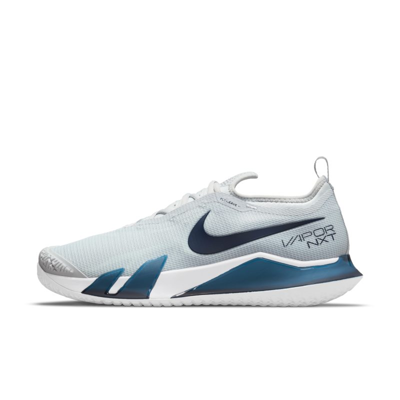 NikeCourt React Vapor NXT Zapatillas de tenis de pista rápida - Hombre - Gris