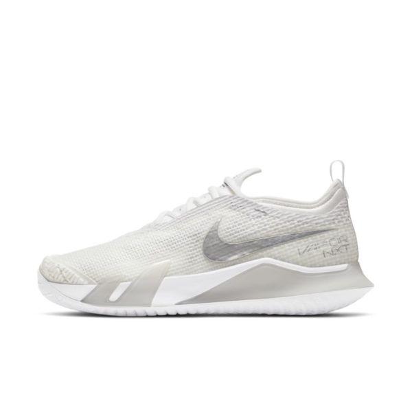 NikeCourt React Vapor NXT Zapatillas de tenis de pista rápida - Mujer - Blanco