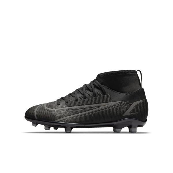 Nike Jr. Mercurial Superfly 8 Club MG Botas de fútbol multisuperficie - Niño/a y niño/a pequeño/a - Negro
