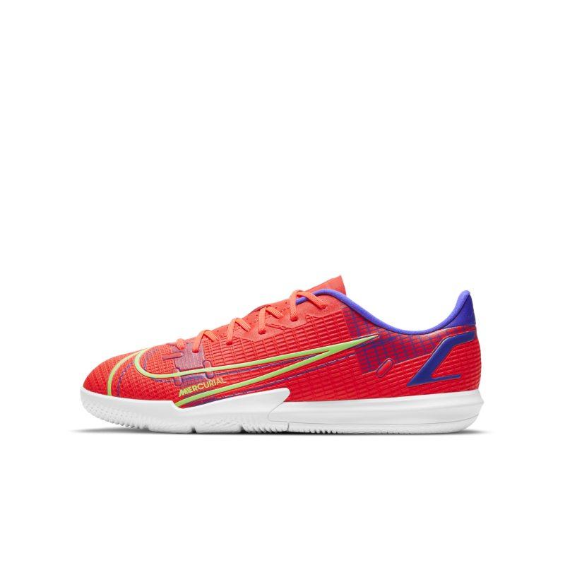 Nike Jr. Mercurial Vapor 14 Academy IC Botas de fútbol sala - Niño/a y niño/a pequeño/a - Rojo