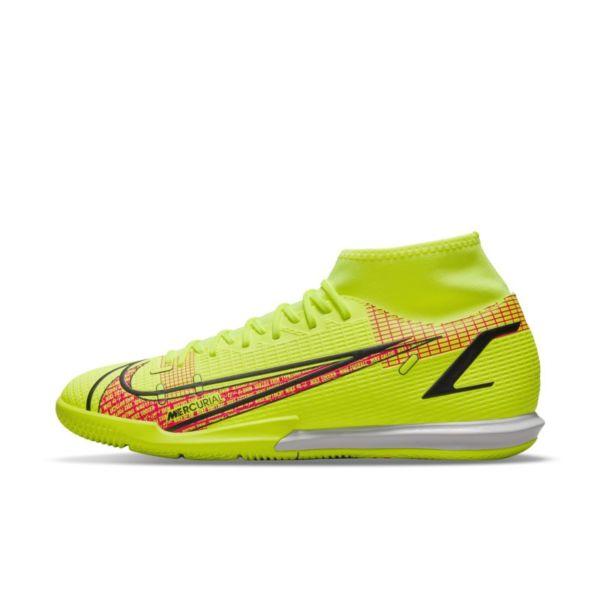 Nike Mercurial Superfly 8 Academy IC Botas de fútbol sala - Amarillo