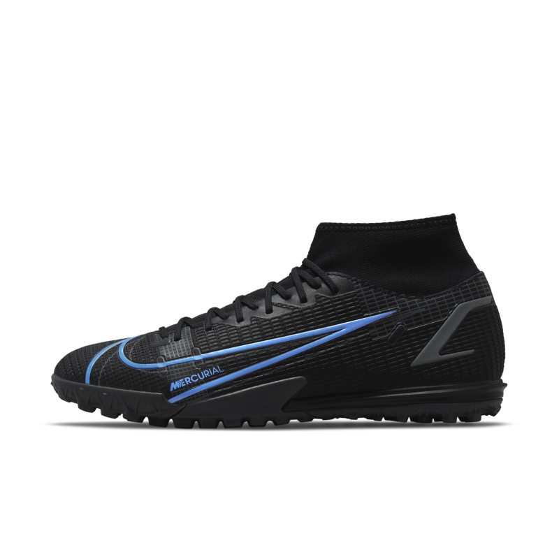 Nike Mercurial Superfly 8 Academy TF Botas de fútbol para moqueta - Turf - Negro