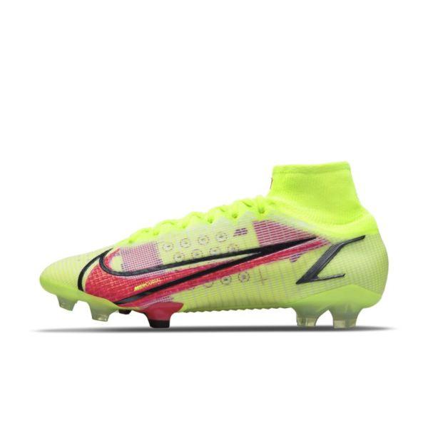 Nike Mercurial Superfly 8 Elite FG Botas de fútbol para terreno firme - Amarillo